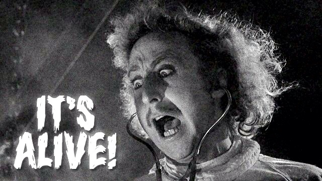 """It's Alive!"" from the movie Young Frankenstein."